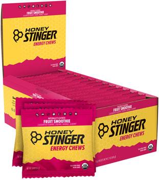 Honey Stinger Organic Energy Chews: Fruit Smoothie, Box of 12