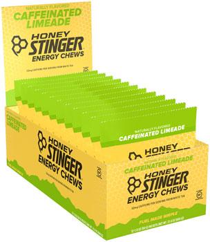 Honey Stinger Organic Energy Chews: Limeade, Box of 12