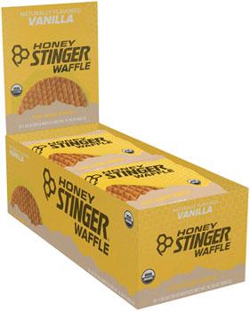 Honey Stinger Organic Waffle: Vanilla, Box of 16