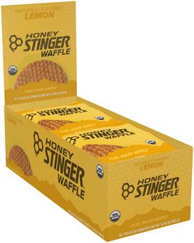 Honey Stinger Organic Waffle: Lemon, Box of 16
