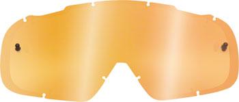 Fox Racing Main Replacement Lens: Dual Pane Orange One Size