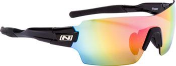 Optic Nerve Vapor IC Sunglasses: Shiny Black
