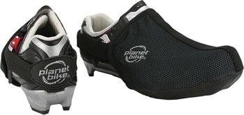 Planet Bike Dasher Toe Shoe Cover: Black, SM