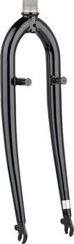 Dimension 700c Hybrid Fork 1-1/8 Threadless 260mmë_Black