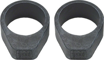 RockShox 2010-2012 BoXXer / Domain Dual Crown Upper Tube / Frame Bumper Stop, 35mm, Qty 2