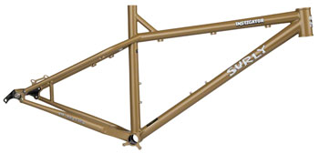 Surly Instigator 2.0 MDS Frame Only XS Trans Am Gold with 2 Black 26 Rabbit Hole Rims
