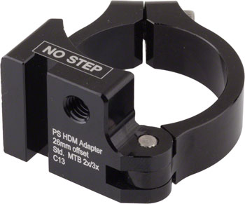 Problem Solvers Direct Mount Adaptor, 26mm offset, 68/73mm BB, 34.9mm clamp w/shims for 31.8