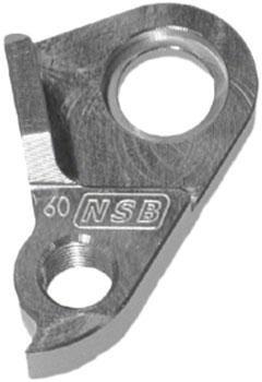 North Shore Billet DH 0060 Transition TR 450 Derailleur Hanger