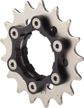 Problem Solvers Singlespeed Cog/Carrier 17-tooth fits Shimano-splined Freehub Bodies