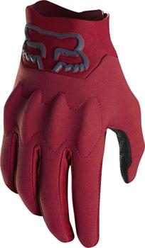 Fox Racing Attack Fire Men's Full Finger Glove: Cardinal XL