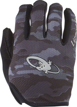 Lizard Skins Monitor Gloves: Black Camo MD