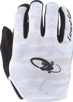 Lizard Skins Monitor Gloves: White Camo MD