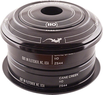 Cane Creek 110 ZS44/28.6 / ZS44/30 Short Cover Headset Black