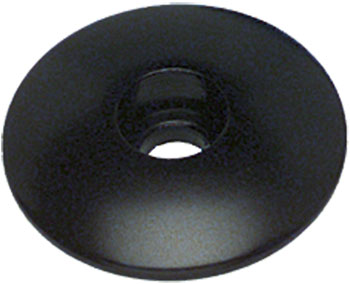 Problem Solvers Top Cap for Alloy / Chromoly Steerers 1-1/8 Black