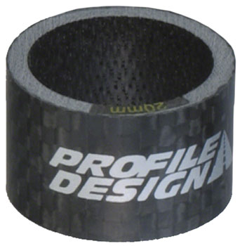 Profile Design Carbon 20mm Headset Spacers bag of 5