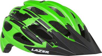 Lazer Magma Helmet: Matte Flash Green, SM