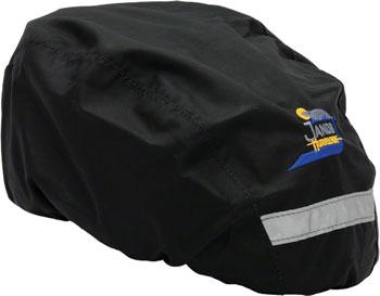 Jandd Helmet Cover Black, Regular Size