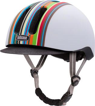 Nutcase Metroride Bike Helmet: Technicolor Matte LG/XL