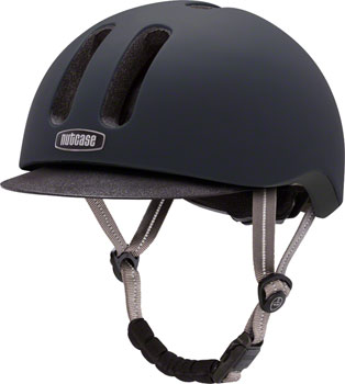 Nutcase Metroride Bike Helmet: Black Tie Matte LG/XL