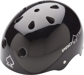 Pro-Tec Classic Helmet: Gloss Black, LG
