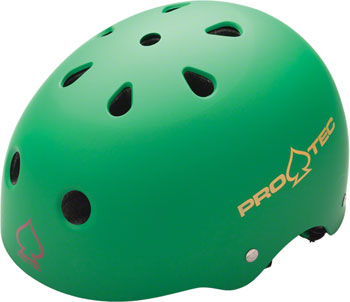 Pro-Tec Classic Helmet: Matte Rasta Green, XL