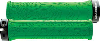 RaceFace Half Nelson Lock-On Grip Green