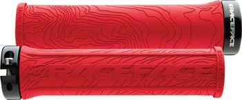 RaceFace Half Nelson Lock-On Grip Red