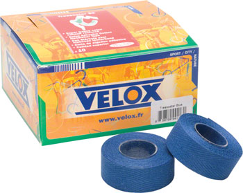 Tressostar Blue Cloth Bar Tape Box of Ten