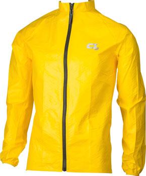 O2 Rainwear Element Series Rain Jacket: Yellow SM