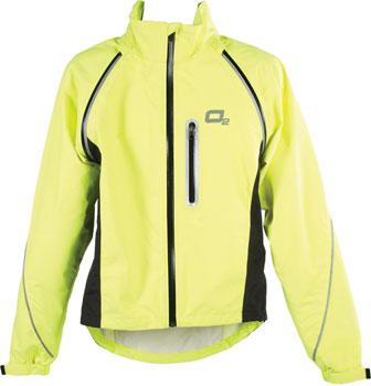 O2 Rainwear Nokomis Rain Jacket: Yellow XL