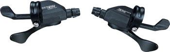 microSHIFT XE Marvo Trigger Shifter Set, 9-Speed, Double/Triple, Shimano Compatible