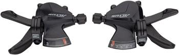 Shimano Altus SL-M2000 3x9 Speed Shifter Set Black