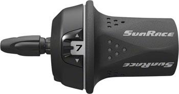 SunRace M21 Twist Shift Rear 7-Speed: Gray