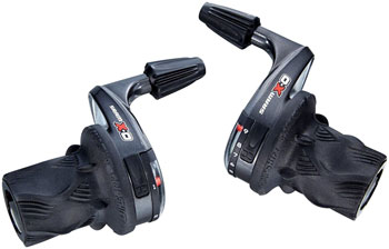SRAM X0 Microfriction Left Twist Shifter, Compatible With Double and Triple Front Derailleurs