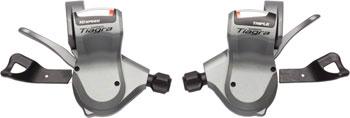 Shimano Tiagra SL-4603 10-Speed Triple Flat Bar Road Shifter Set