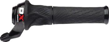 SRAM X0 2-Speed Front Twist Shifter Black/Red