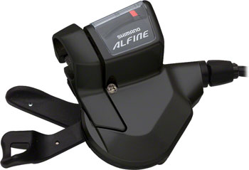 Shimano Alfine SL-S700 11-Speed Rapidfire Shifter for Internally Geared Hub, Black