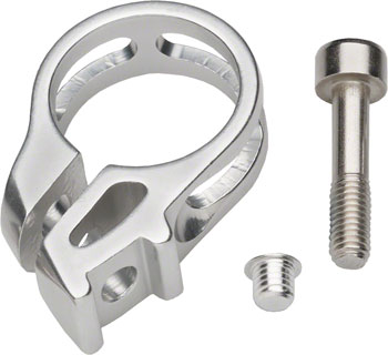 SRAM Discrete Trigger Clamp Assembly fits XX1, X01, X1, 2007-15 X0, X9, 2010-15 X7, GX, Silver, Sold Each