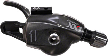 SRAM XX1 11-Speed Trigger Shifter Red Logo with Handlebar Clamp, Cable and Housing