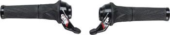SRAM GX GripShift Set 2x11 Speed Red Logo with Locking Grips