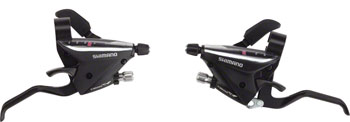 Shimano EF65-2A 3x7-Speed Brake/Shift Lever Set Black