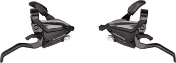 Shimano ST-EF500 3x7-Speed Brake/Shift Lever Set Black