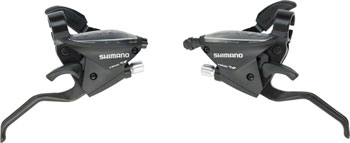 Shimano ST-EF510 3x8-Speed Brake/Shift Lever Set Black