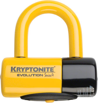 Kryptonite Evolution Disc U-Lock: 1.8 x 2.1