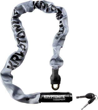 Krypto Keeper 785 Integrated Chain Lock: 2.8' (85cm) Gray