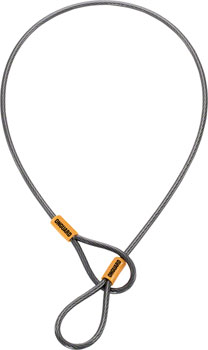 OnGuard Akita Cable for Saddles: 21 x 5m, Gray/Orange