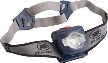 NiteRider Adventure 180 Headlamp: Blue