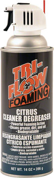 TriFlow Foaming Citrus Degreaser Aerosol: 14oz