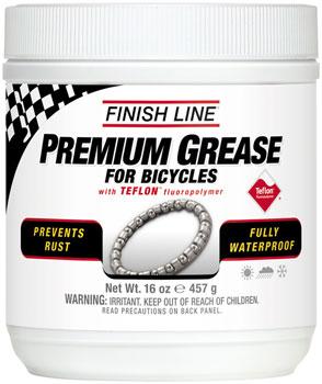 Finish Line Premium Grease with Teflon, 16oz Tub