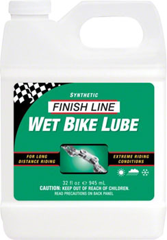 Finish Line WET Chain Lubricant, 32oz